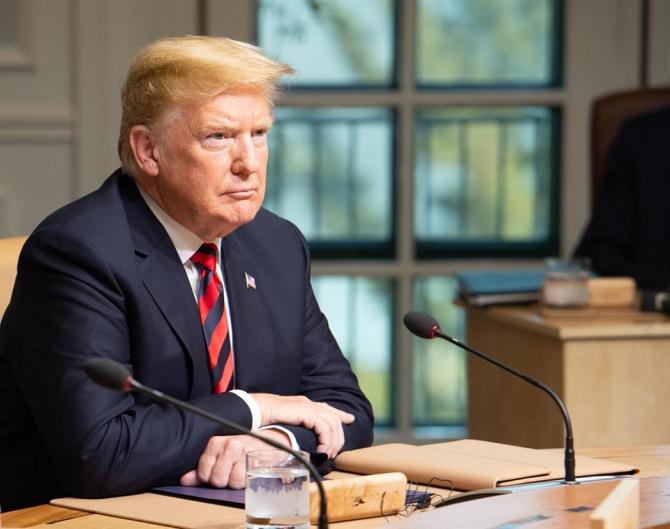 Donald trump, președintele SUA