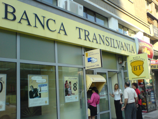 Banca Transilvania este cea mai mare bancă cu capital majoritar românesc