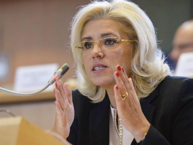 Corina Crețu, comisarul european pentru Dezvoltare Regională