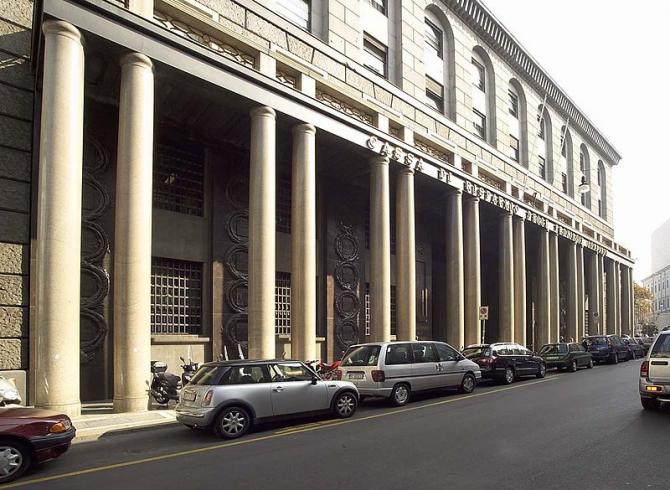 Sediul central al Intesa Sanpaolo de la Milano