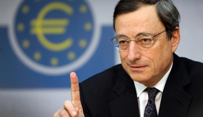Mandatul lui Mario Draghi la BCE se încheie în octombrie 2019