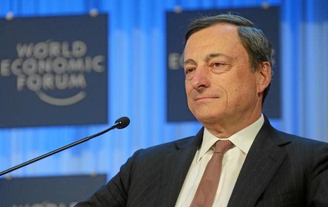 Președintele BCE, Mario Draghi