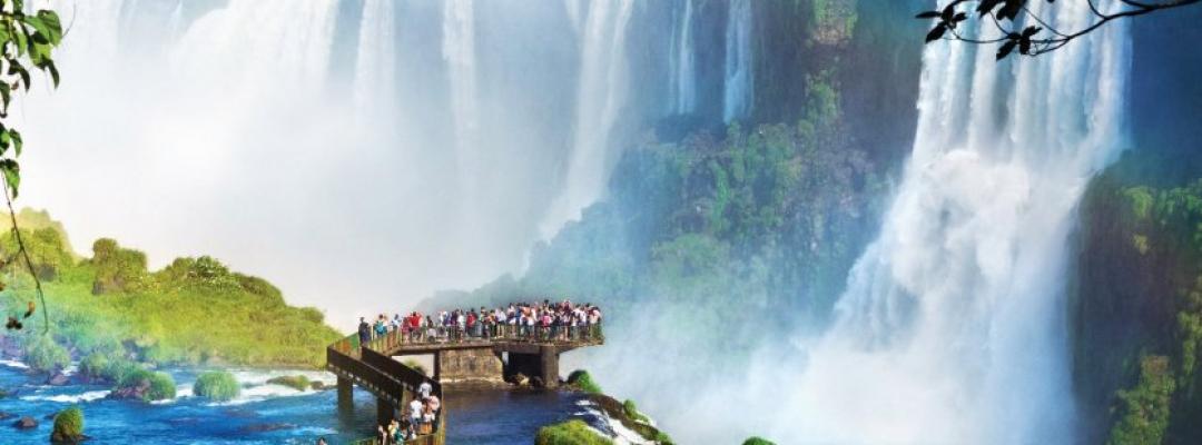 Cascada Iguazu, Argentina