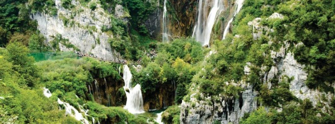 Cascada Plitvice, Croatia