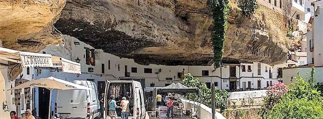 Setenil de las Bodegas - Spania