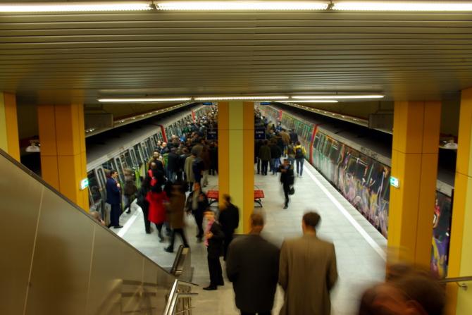 Aplicatie mobila pentru metroul bucurestean