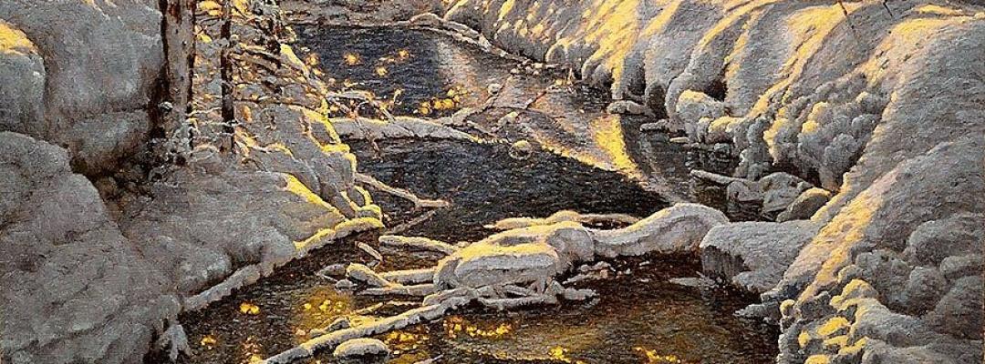 Iarna desenată de Richard Savoie