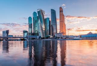 Moscow City - cartierul de afaceri al capitalei Rusiei