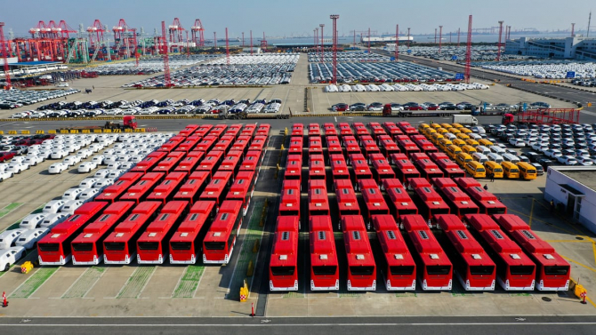 Chile are cea mai mare flotă de autobuze electrice