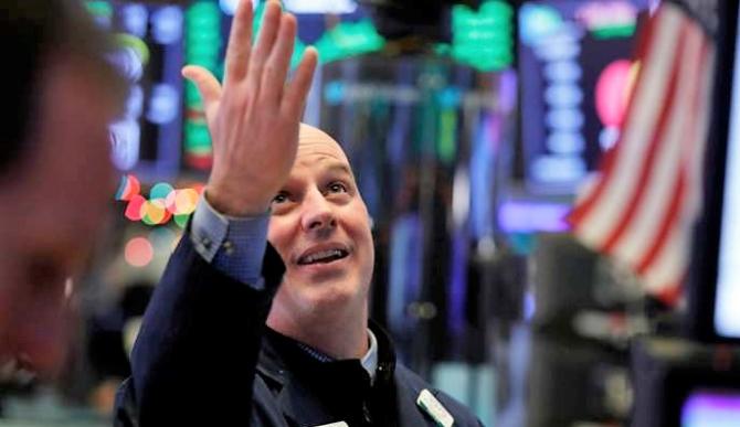 Veselie mare pe Wall Street