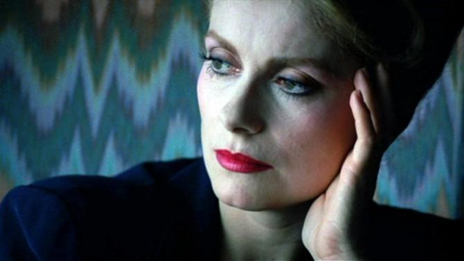 Actrița franceză Catherine Deneuve