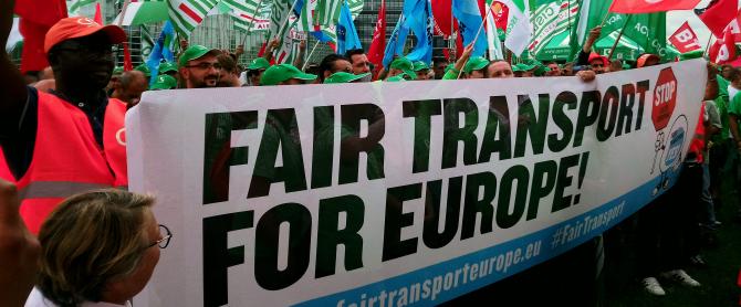 Transportatorii din România și Europa se pregătesc de proteste masive