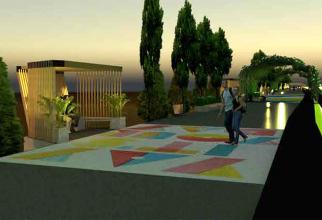 Proiectul de modernizare a promenadei