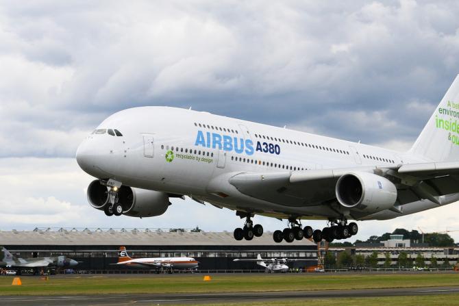 Airbus a livrat 800 de avioane în 2018
