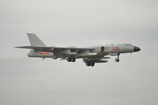 Bombardierul chinez H-6K a efectuat lansarea