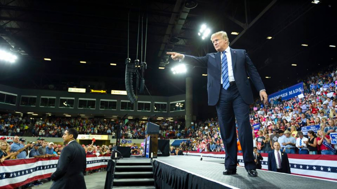Președintele Statelor Unite, Donald Trump