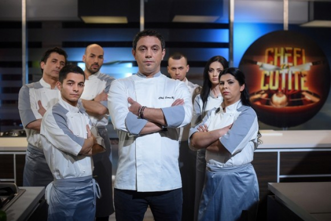 Finala 6 Chefi la cutite se difuzeaza marti 22 ianuarie