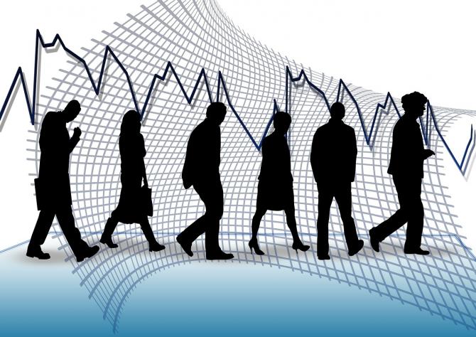 Rata șomajului începe să crească