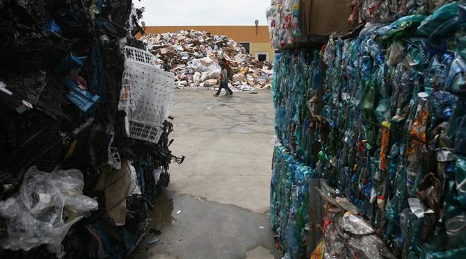Centru de colectarea a gunoaielor