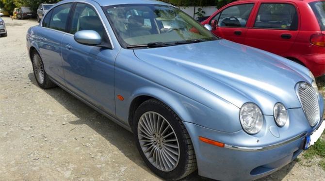 Jaguar-ul scos la licitatie