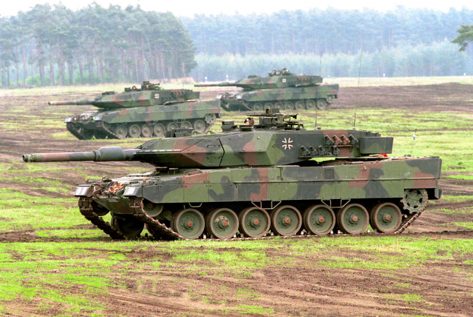 Exporturile germane de armament se află în declin