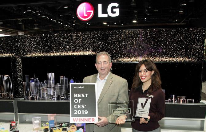 LG la CES 2019