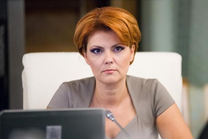 Olguța Vasilescu a rămas la Guvern doar cu o funcție onorifică