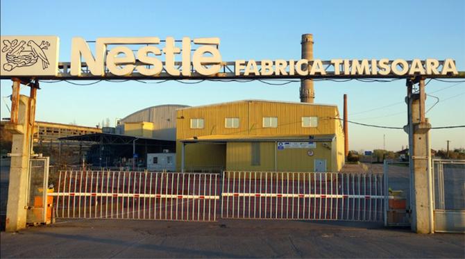 Fabrica Nestle din Timisoara