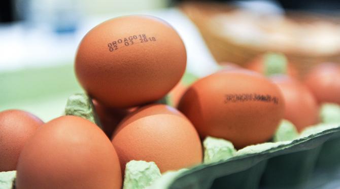 Ouăle contaminate au fost retrase