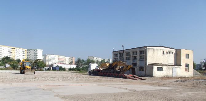 Cândva, aici a fost o fabrică