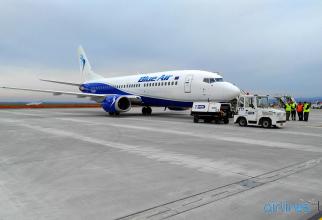 Blue Air: Noi rute internaționale pentru perioada sărbătorilor de iarnă