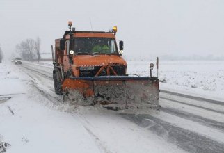 Mweteorologii au emis o atenționare cod galben de ninsori