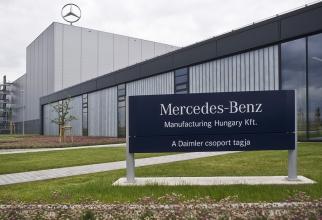 Fabrica  Mercedes de la Kecskemét din Ungaria