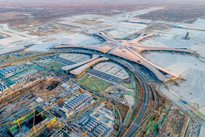 Inaugurarea aeroportului gigant