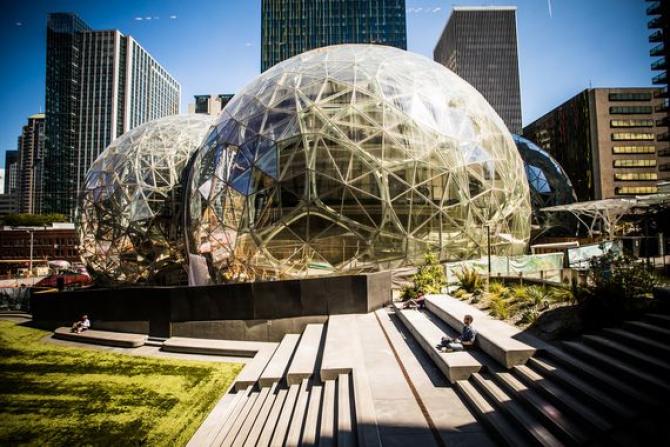 Proiectul sediului din New York al Amazon