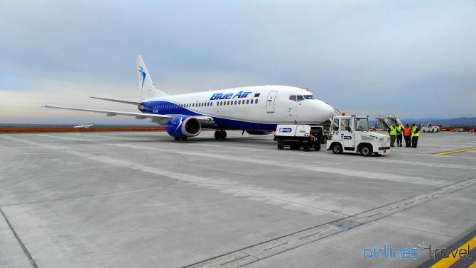 """Blue Air solicită MFP să îndeplinească """"în regim de maximă urgenţă"""" ultimele trei condiţii"""