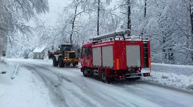 Iarna iar face probleme de trafic