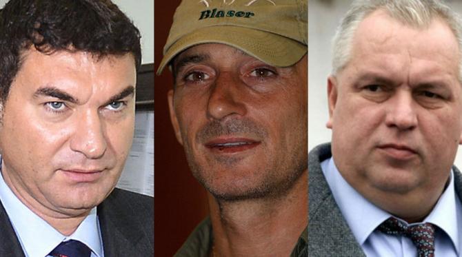 Cristian Borcea, Radu Mazăre și Nicușor Constantinescu