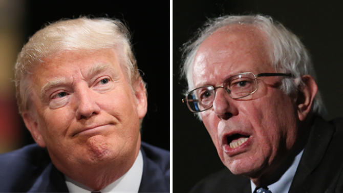 Bernie Sanders ar putea să-l elimine pe Trump de la Casa Albă