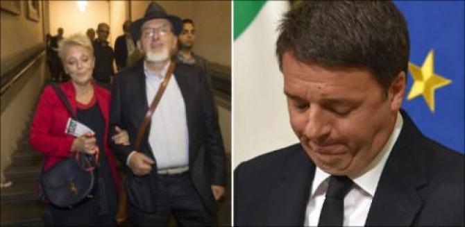Parintii lui Matteo Renzi au fost plasati in arest la domiciliu
