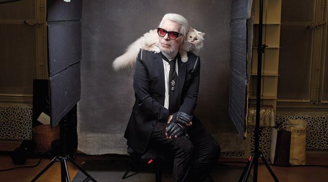 Karl Lagerfeld și Choupette