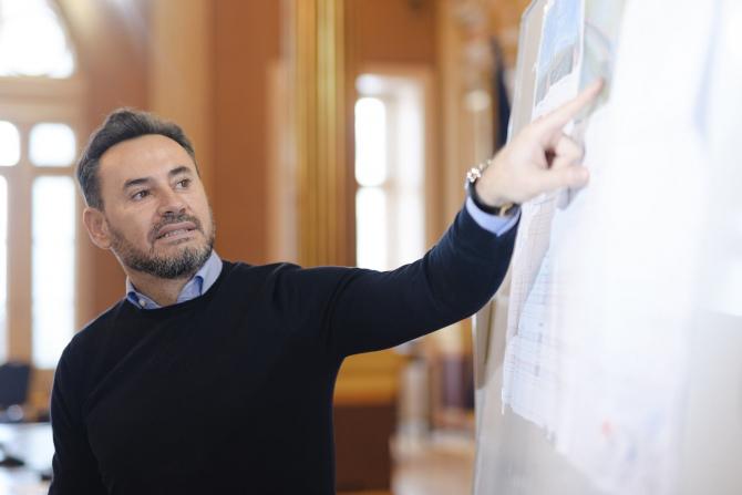 Gheorghe Falcă, primarul Aradului