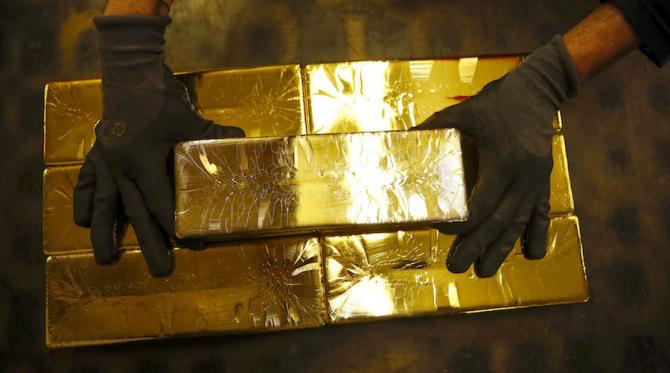 Țările europene preferă să țină aurul în mai multe locuri