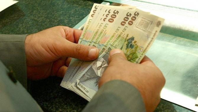 Câştigul salarial mediu nominal brut a fost de 4.938 lei