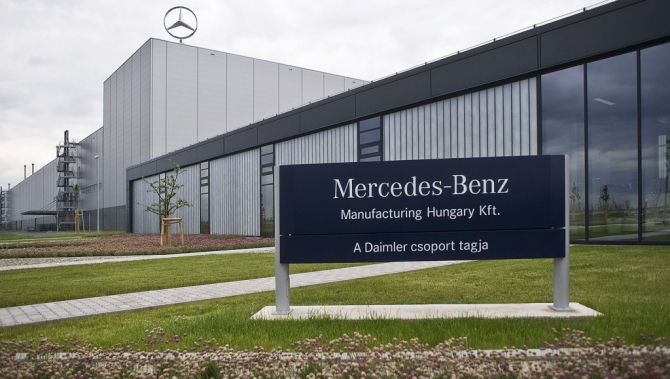 Fabrică  Mercedes