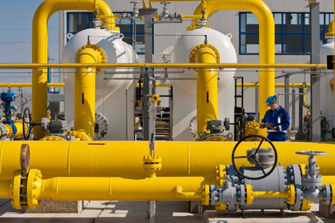 Coridorul sudic alimenteaza Europa cu gaz azer.