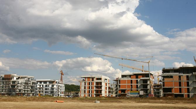 Lucrările din construcții, cel mai semnificativ declin