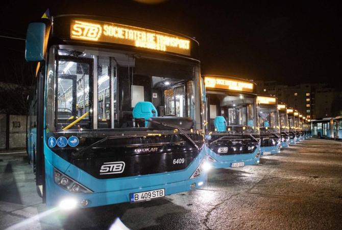 STB a DEZINFECTAT în 2 zile 736 de vehicule