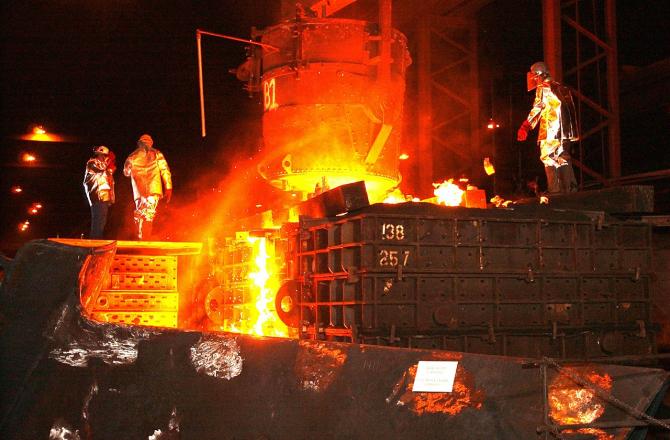 Producătorii europeni de oțel au fost afectați de tarifele impuse de SUA