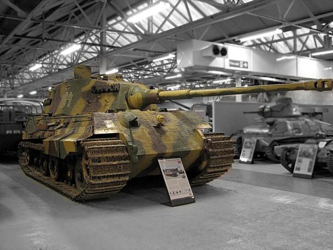 Tiger II a fost cel mai temut tanc în al doilea război mondial